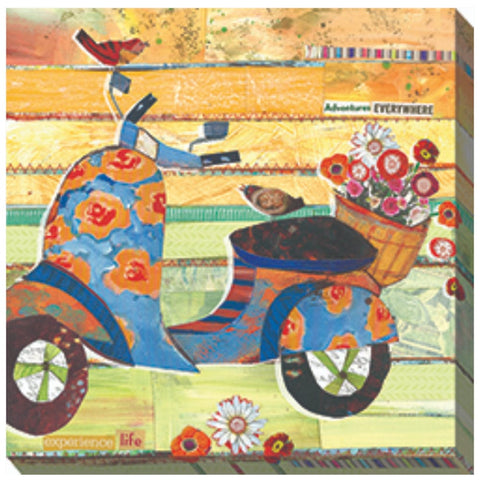 Sweet Ride Outdoor Canvas Art - Outdoor Art Pros