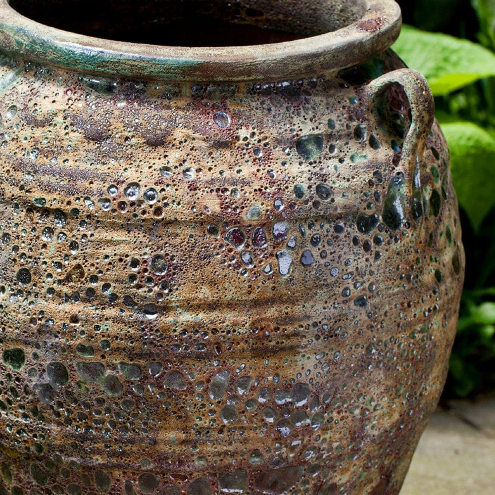 Tavira Jar In Angkor Green Mist
