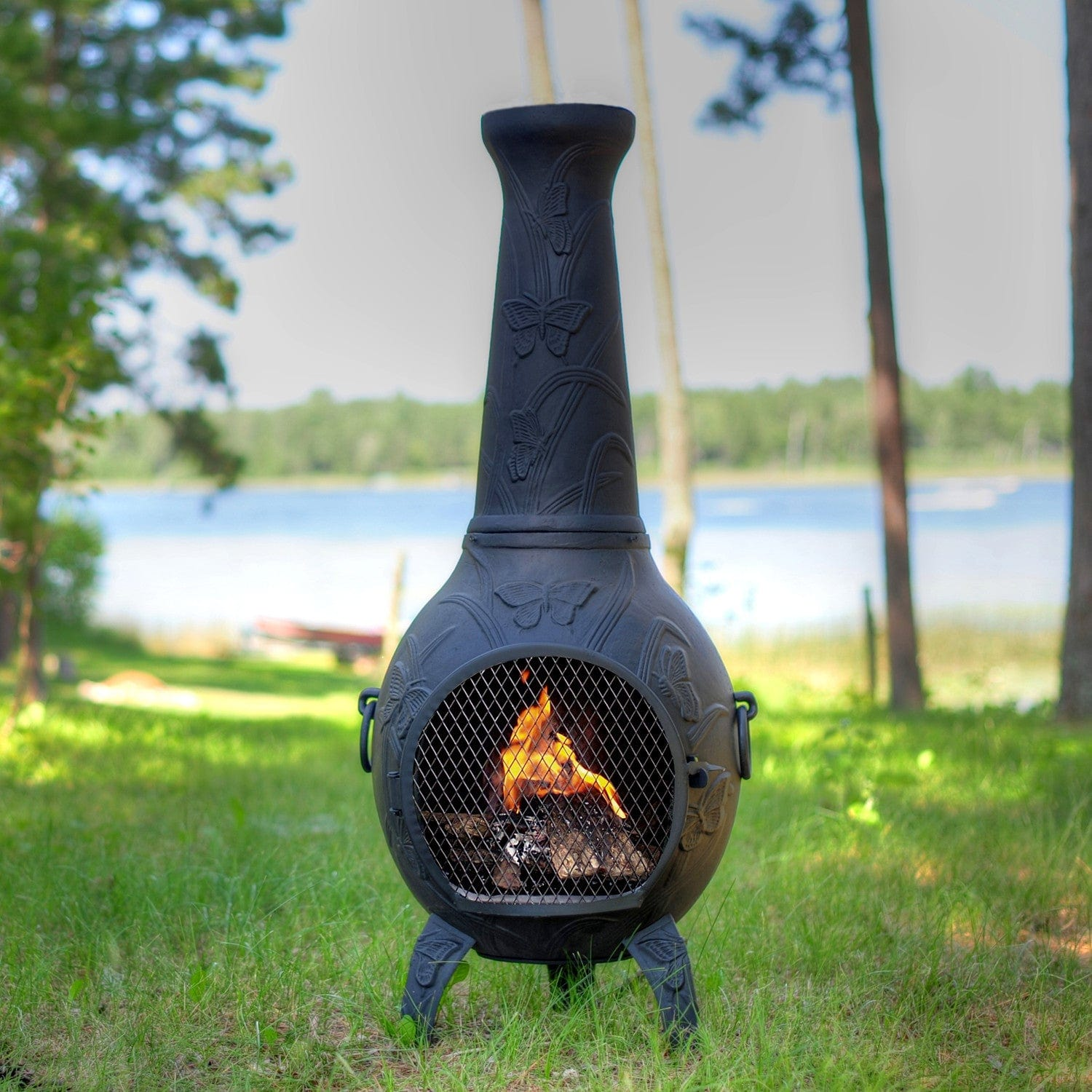 chiminea shop chimenea outdoor fireplaces