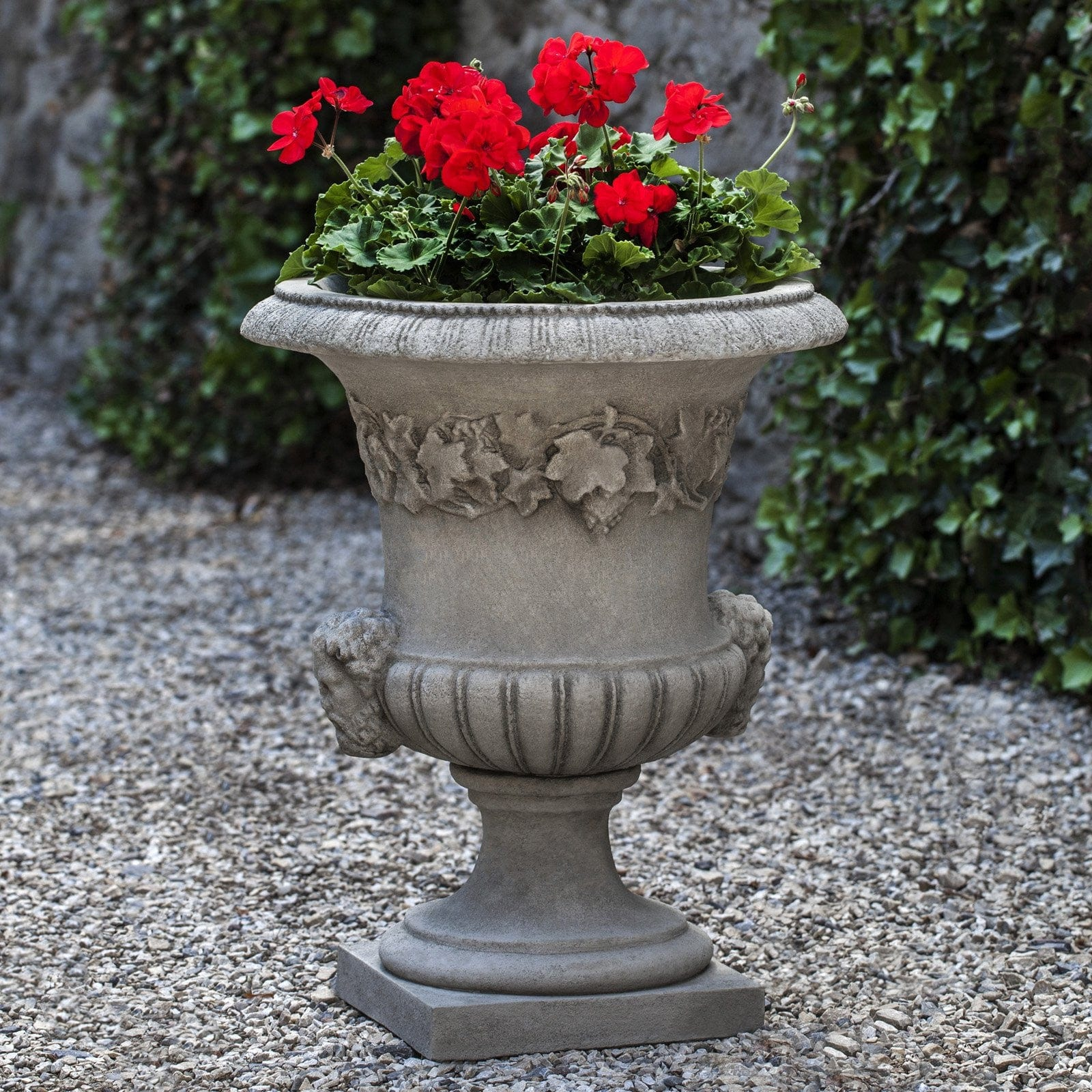 Charming ... The Elms Ivy Urn Garden Planter   Outdoor Art Pros ...
