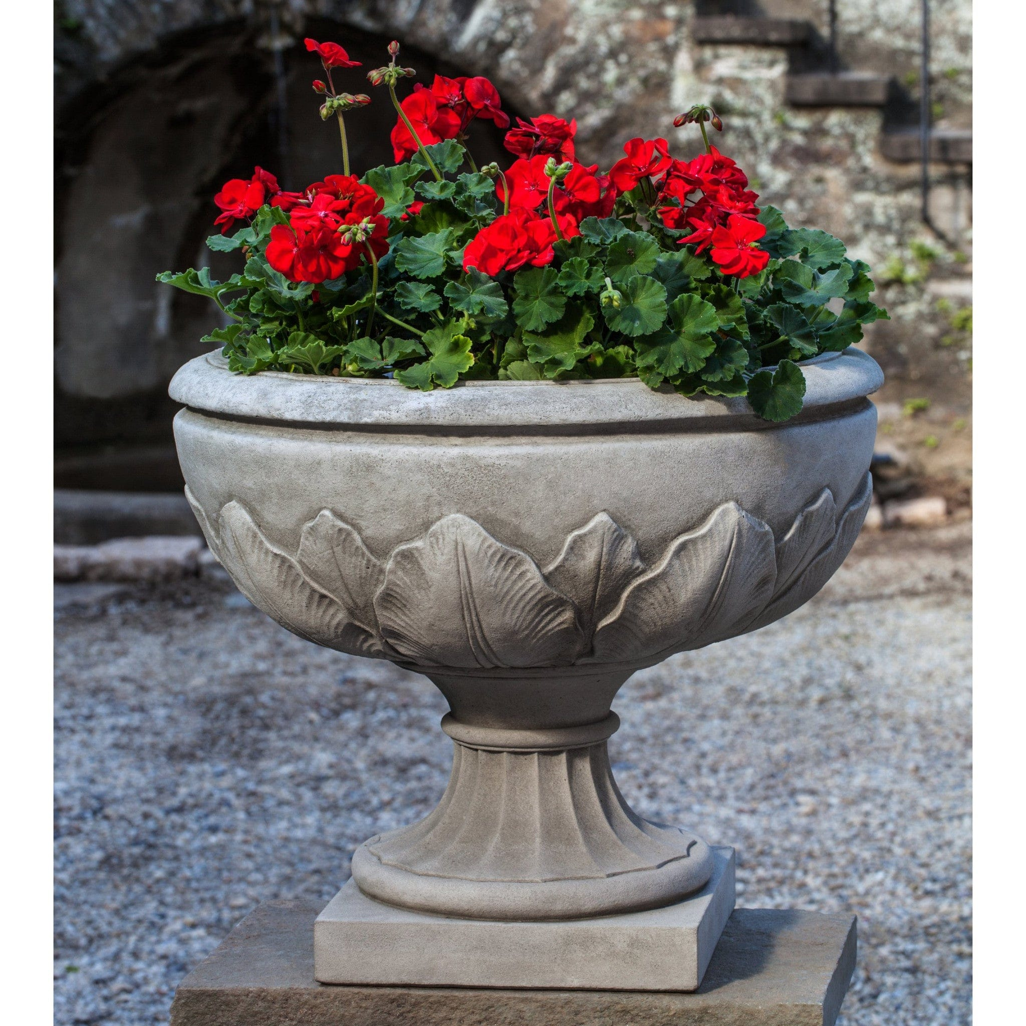 planter granville outdoor containers garden urn product fiberglass the