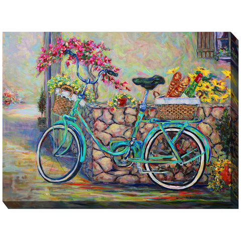 The Sweet Life Outdoor Canvas Art - Outdoor Art Pros