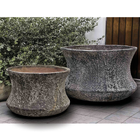 Aegean Thira Planter Set of 2 - Outdoor Art Pros