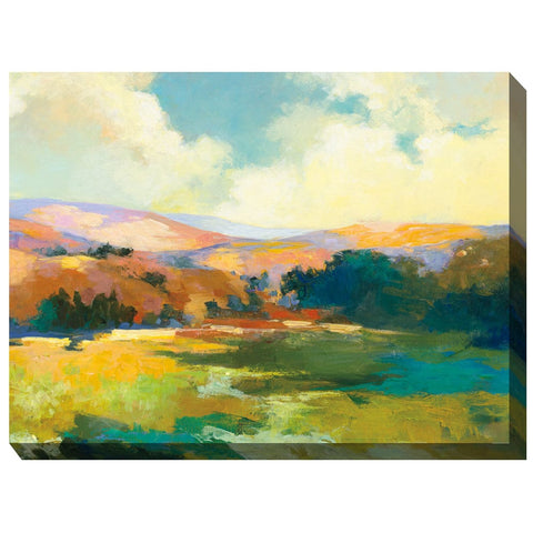 Valley of Light Outdoor Canvas Art - Outdoor Art Pros