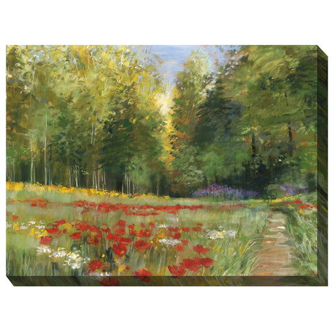 Wilderness Walk Outdoor Canvas Art - Outdoor Art Pros