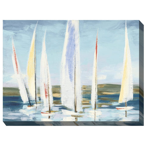Wind in the Sails Outdoor Canvas Art - Outdoor Art Pros