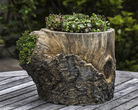 Walnut Garden Planter - Outdoor Art Pros