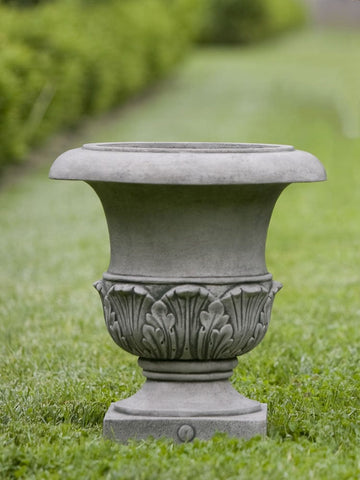 Williamsburg Acanthus Small Garden Planter - Outdoor Art Pros