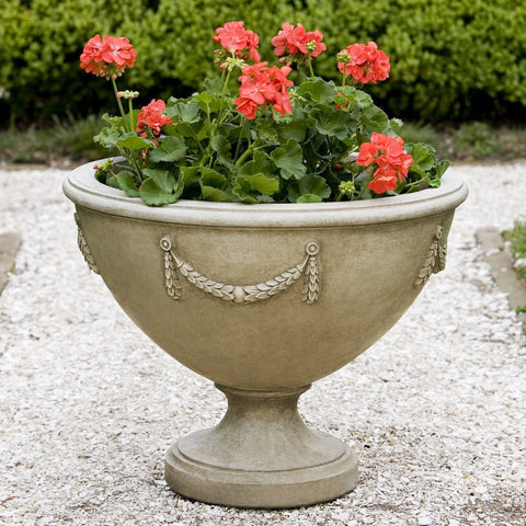 Williamsburg Neoclassic Urn Garden Planter - Outdoor Art Pros