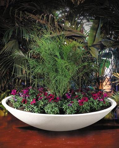 Wok Planter - Outdoor Art Pros