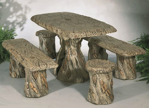 Woodland Table Set - Outdoor Art Pros