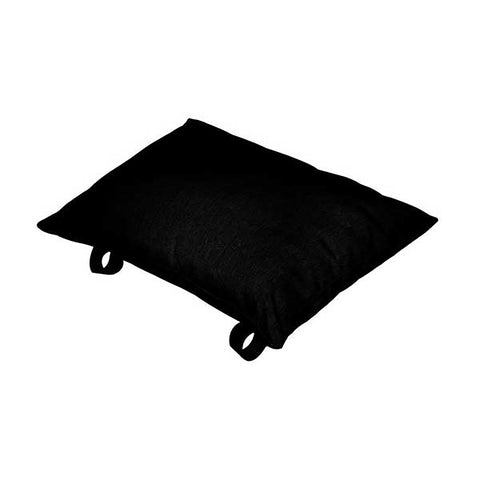 Black Polyester Pillow - Outdoor Art Pros