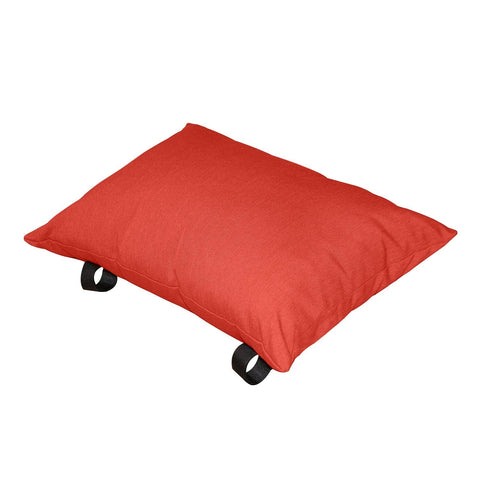 Cherry Red Polyester Pillow - Outdoor Art Pros