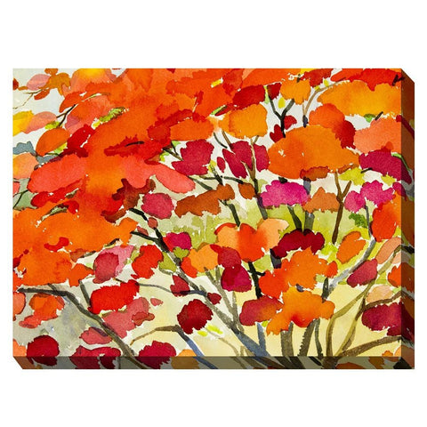 Blaze #1 Outdoor Canvas Art - Outdoor Art Pros