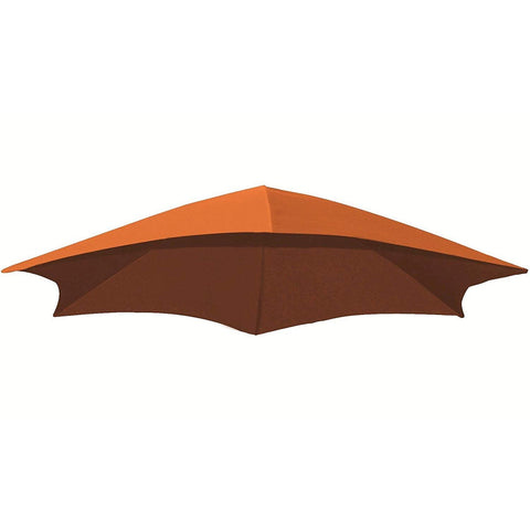 Orange Zest Dream Umbrella Fabric - Outdoor Art Pros
