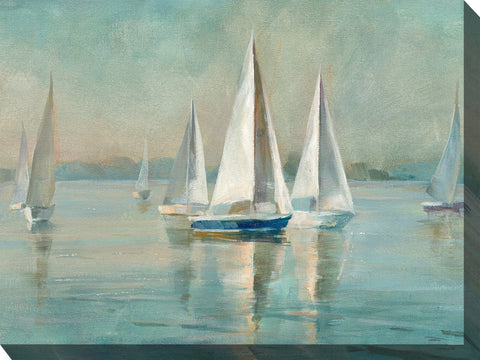 Smooth Sailing Outdoor Canvass Art - Outdoor Art Pros