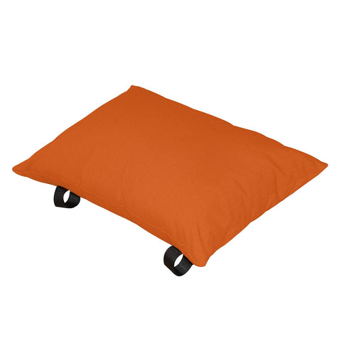 Orange Zest Polyester Pillow - Outdoor Art Pros