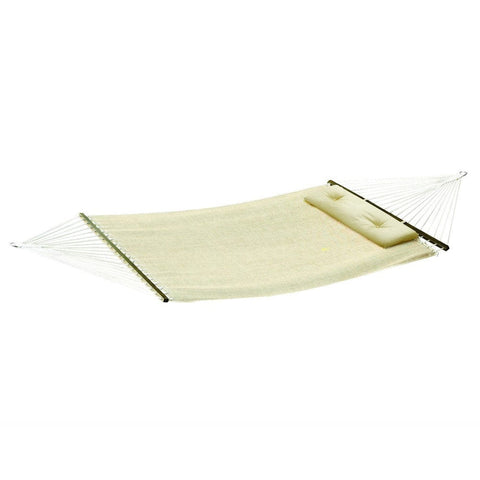 Bliss Woven Hammock with Tuff Pillow - Outdoor Art Pros
