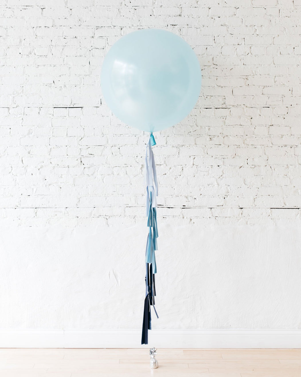 Giant Pearl Blue Balloon