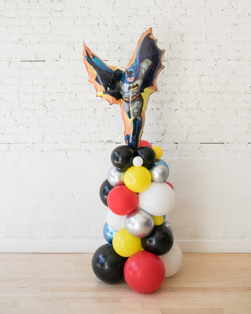 Superhero Theme Batman Balloon Column - small