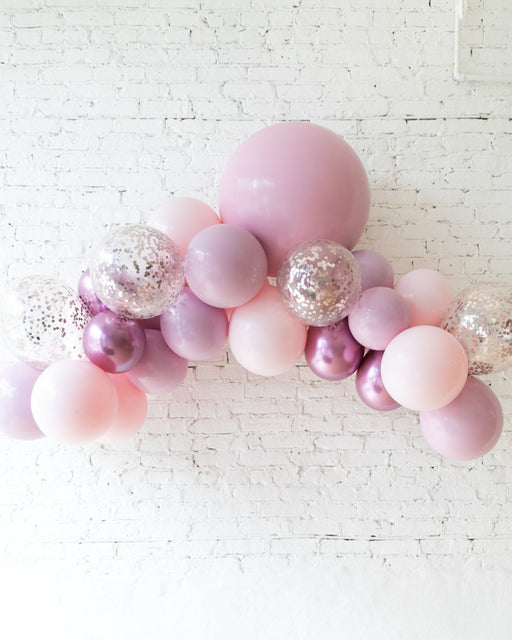 Modern Mauve - Floating Balloon Arch - 5FT