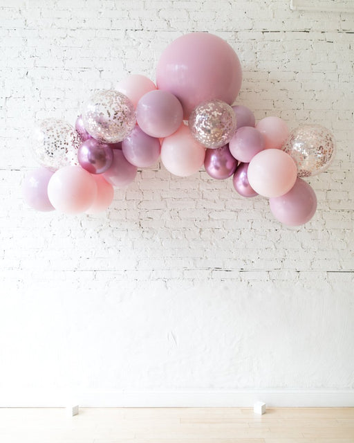 Shades of Mauve - Floating Balloon Arch - 5ft