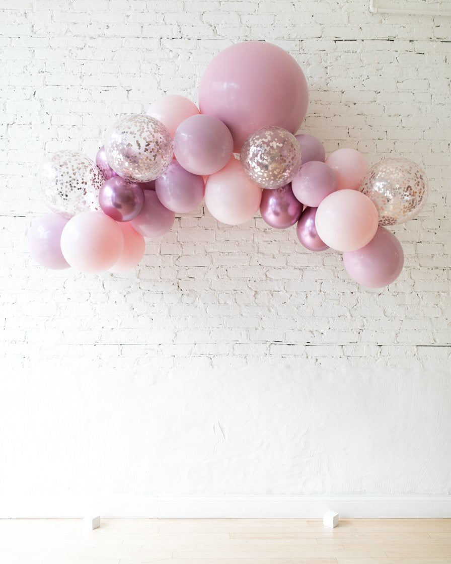 Shades of Mauve Palette Floating Arch - Small