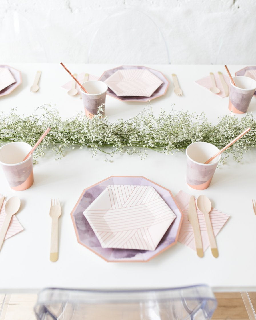 Baby Breath Greenery Table Runner