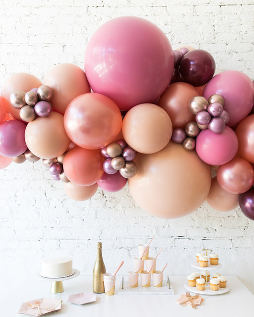 Berry Blush - Backdrop Balloon Garland Install Piece