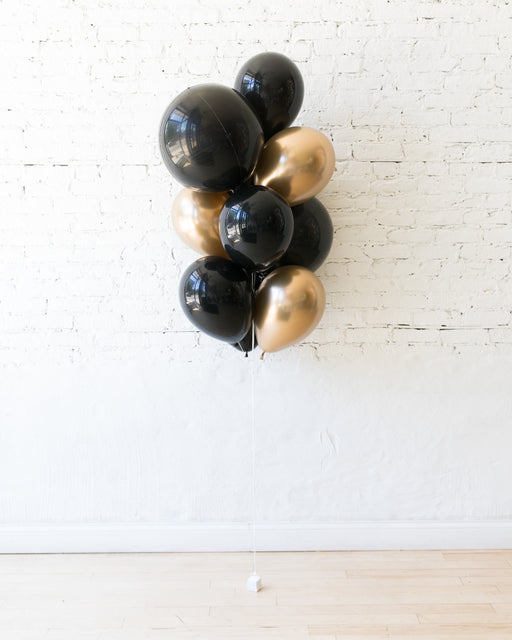 Couture - Orbs and 11in Balloons - bouquet of 10