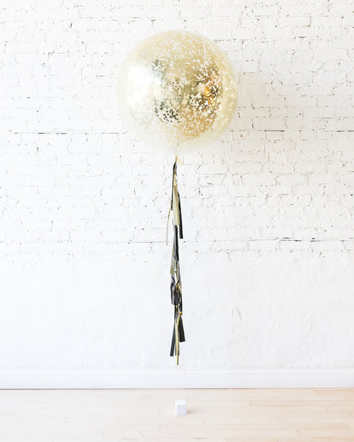 Couture - Confetti Giant Balloon with Tassel