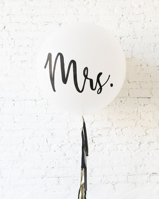 Couture - MRS. Giant Balloon with Tassel