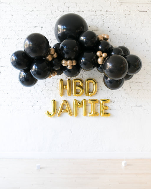 Couture - Floating Balloon Arch & Foil Letters Set