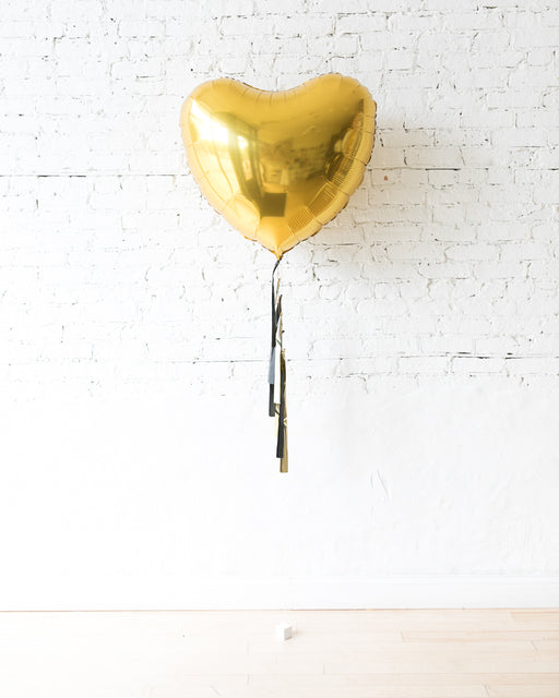 Couture - 36in Heart Foil Balloon with Tassel