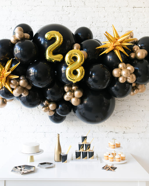 Couture - Number Backdrop Balloon Garland Install Piece - 6ft