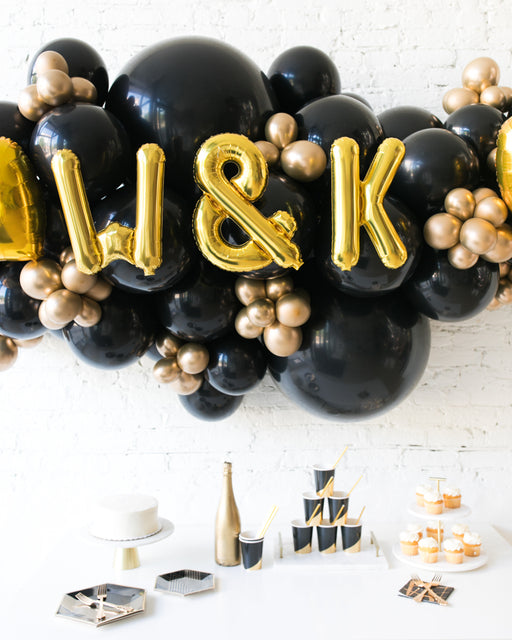 Couture - Personalized Backdrop Balloon Garland Install Piece - 6FT