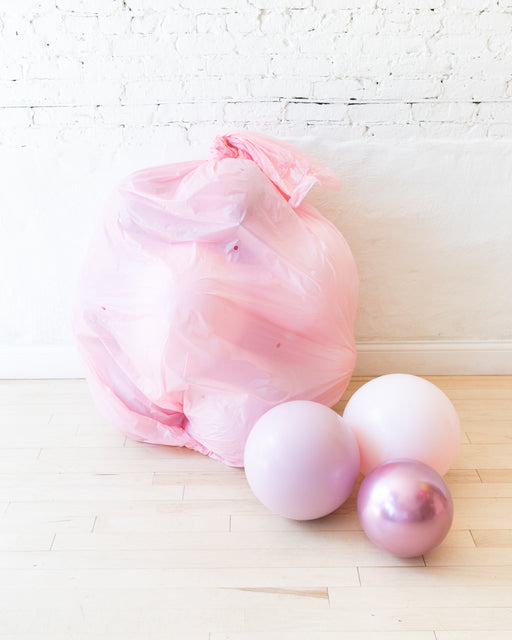 Shades of Mauve Palette Floor Balloons - 15 counts