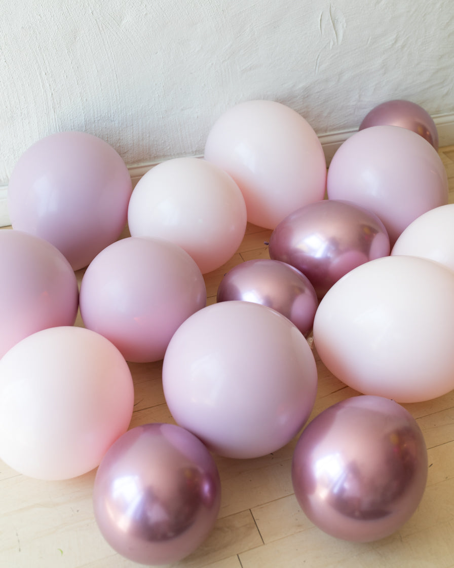 Modern Mauve - Floor Balloons - 15 counts