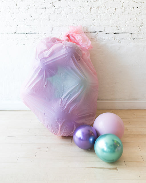 GIFT-Mermaid Theme Floor Balloons - set of 15