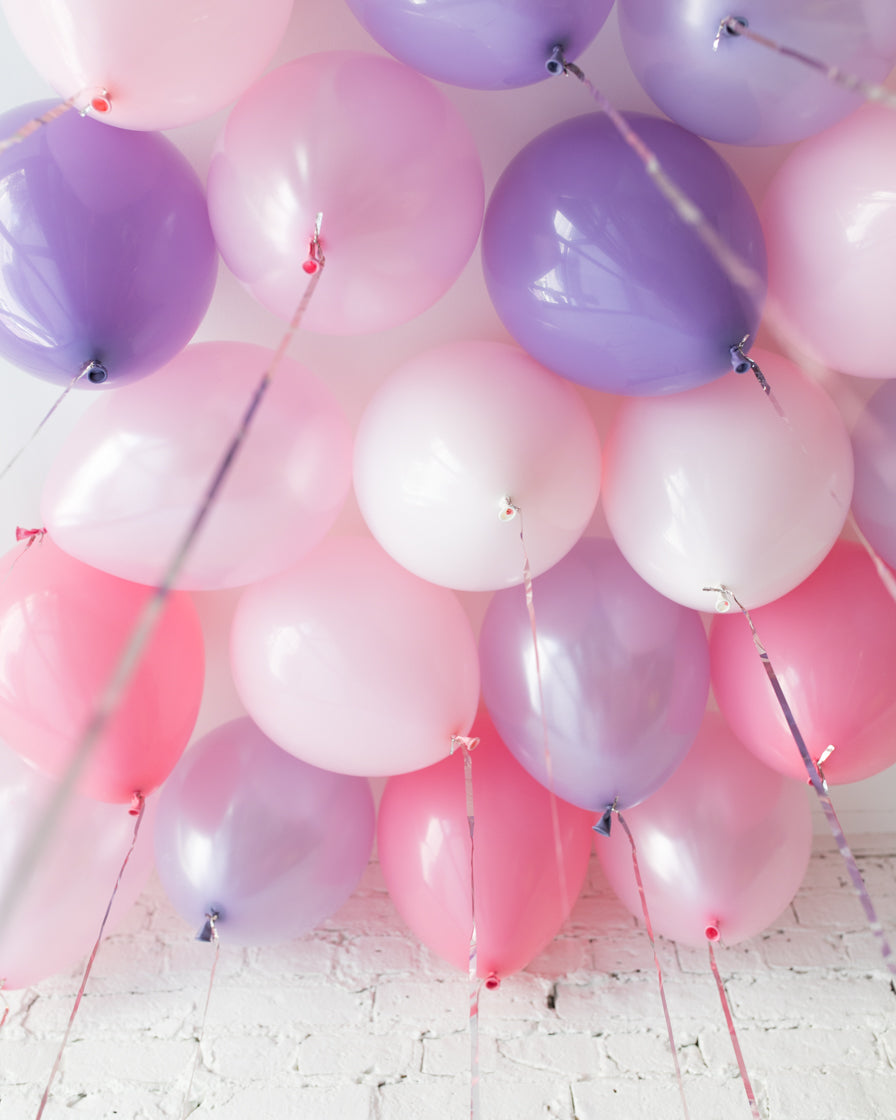 GIFT-Princess Theme 11in Ceiling Balloons - set of 25