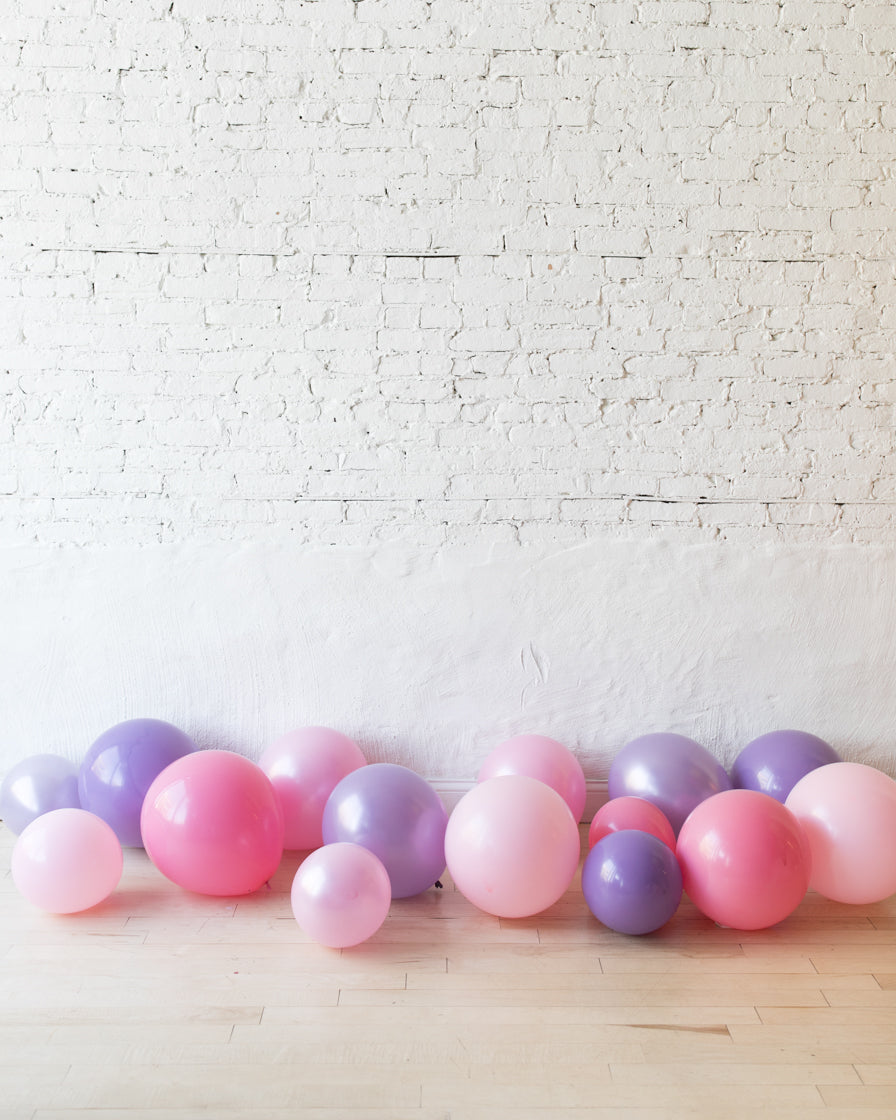 Princess Theme Floor Balloons - 15 counts