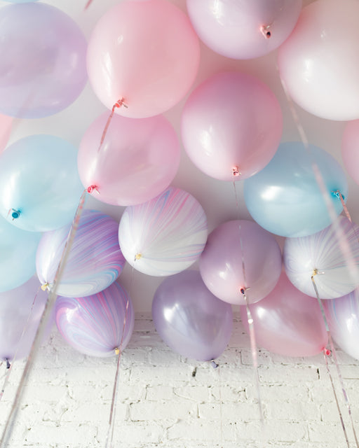 GIFT-Unicorn Theme 11in Ceiling Balloons - set of 25