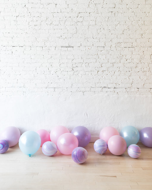 GIFT-Unicorn Theme Floor Balloons - set of 15