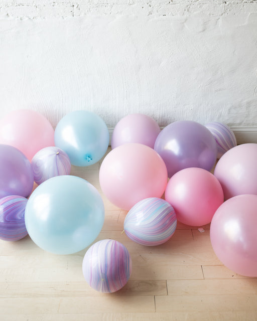 Unicorn Theme - Floor Balloons - set of 15