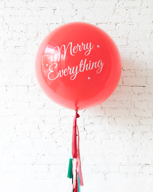 GIFT-Holiday Theme - Specialty Giant Balloon with Tassel