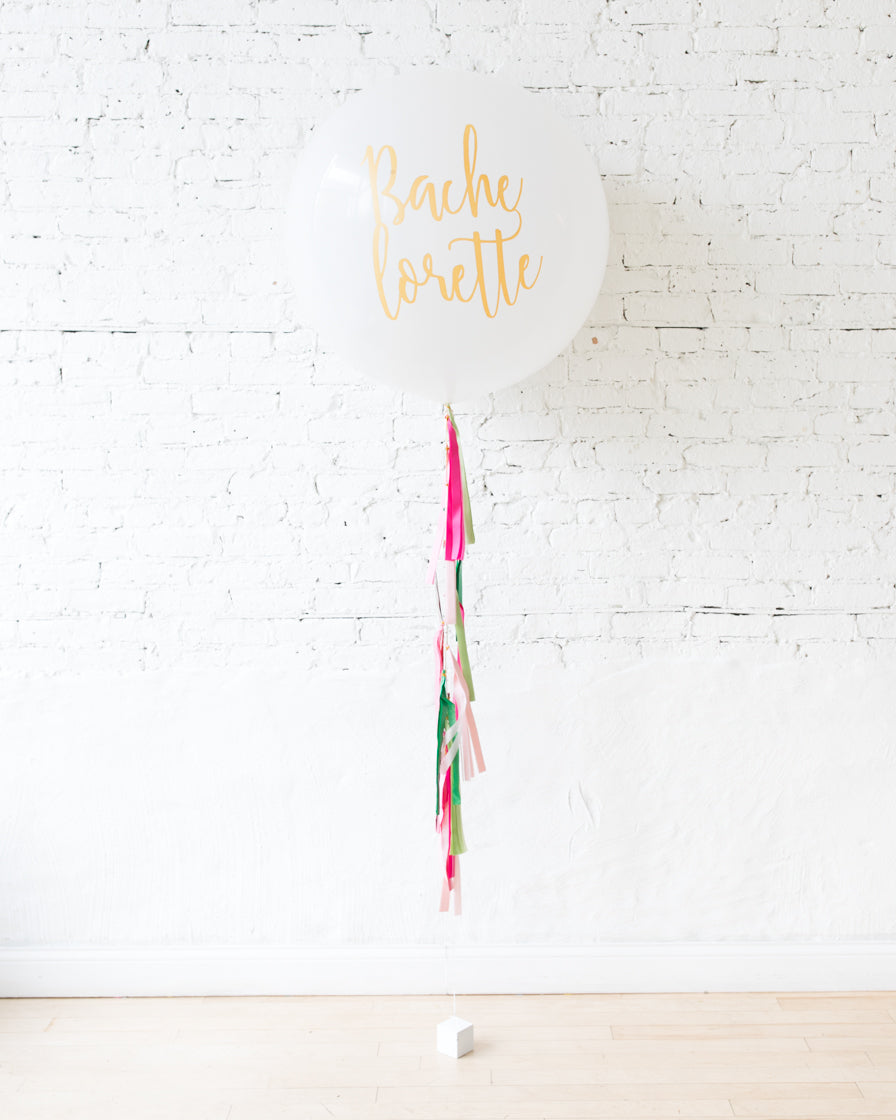 Flamingo Fling - Bachelorette Giant Balloon with Tassel