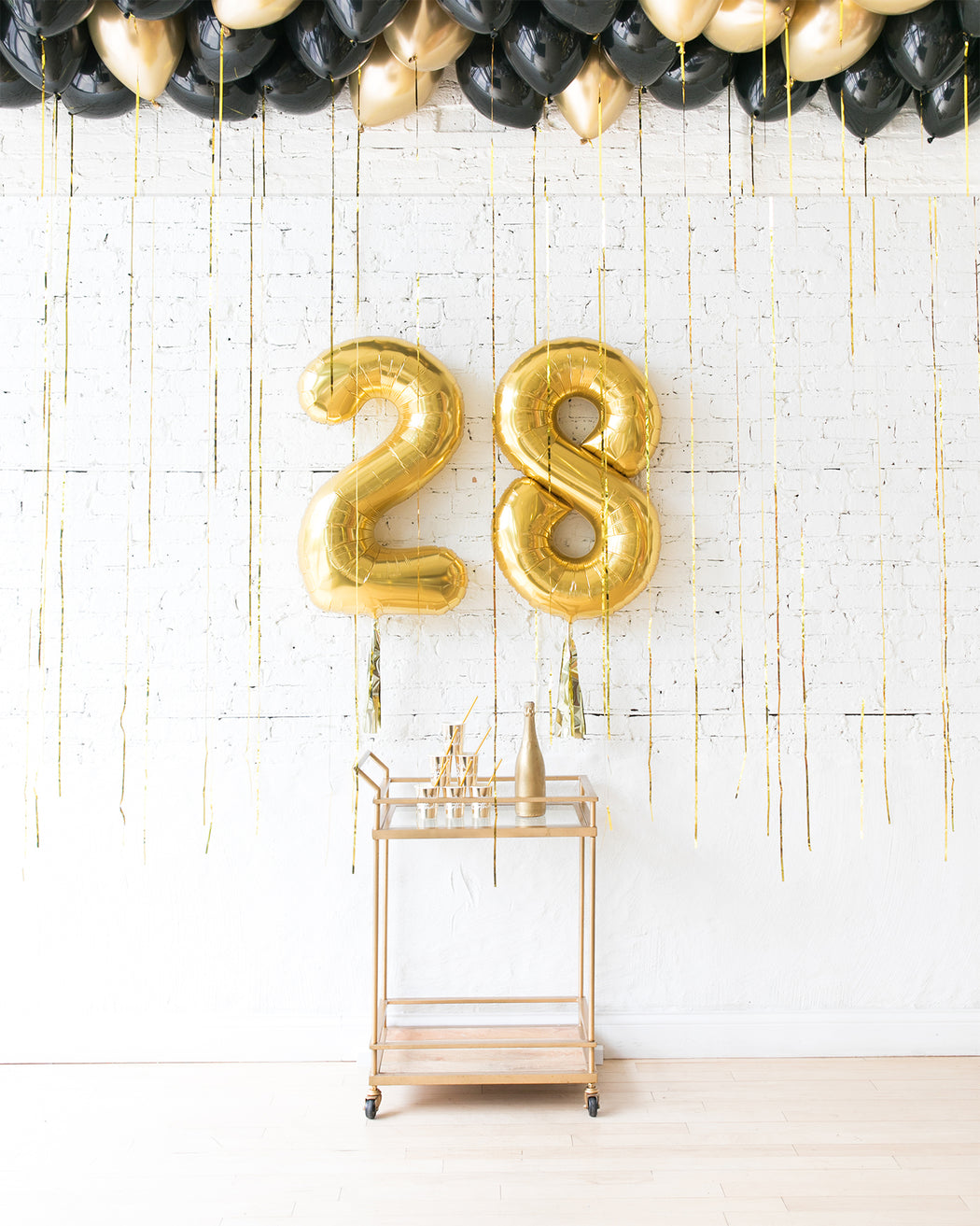 Couture - Number Foils & Ceiling Balloons Set