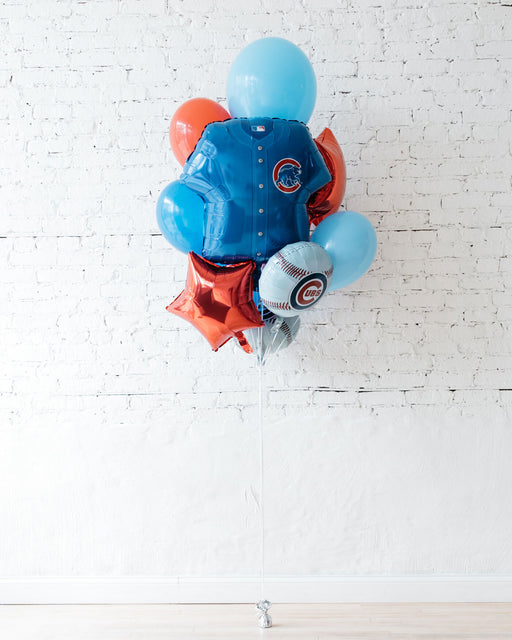 GIFT-Cubs Foil and 11in Balloons - Bouquet of 10