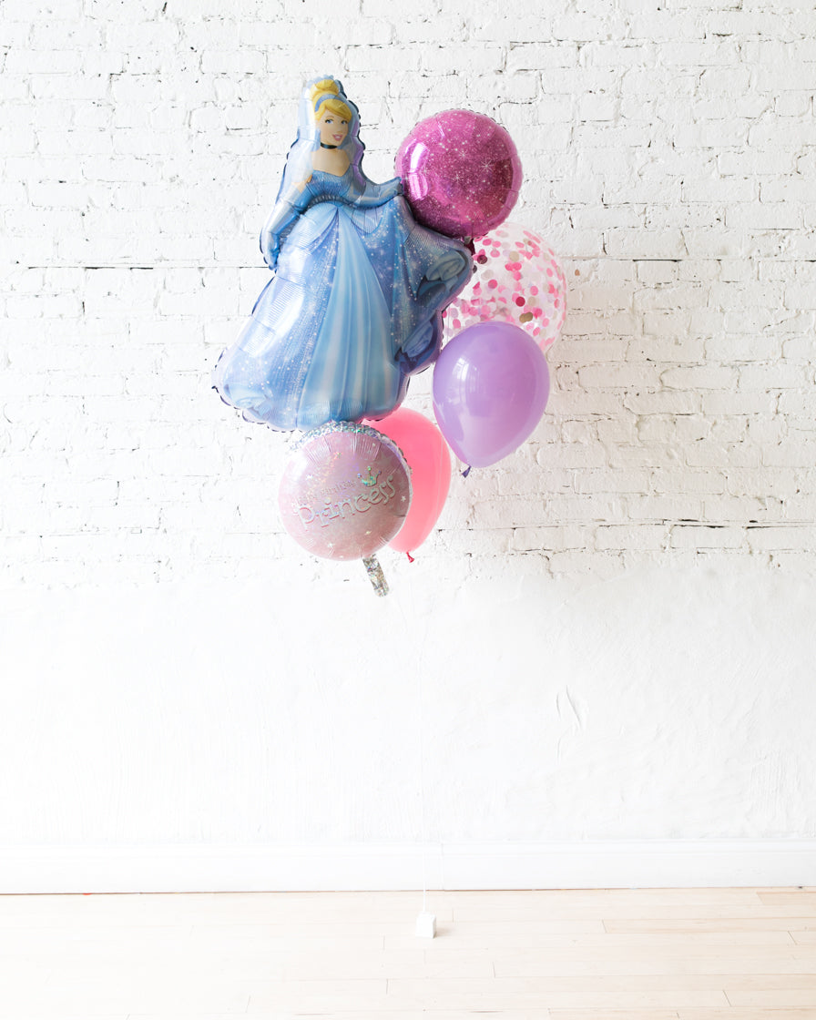 GIFT-Cinderella Balloon Bouquet