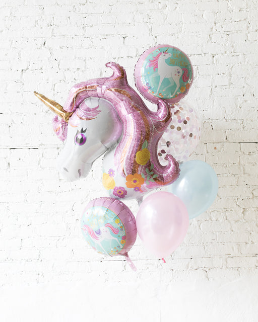 GIFT-Unicorn Balloon Bouquet